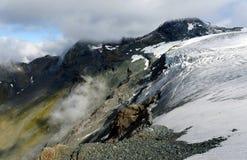 Retiring of Teischinitz Glacier Stock Photography