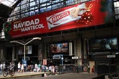 Retiro火车站在布宜诺斯艾利斯 免版税库存图片