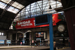Retiro火车站在布宜诺斯艾利斯 库存照片