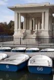 retiro πάρκων της Μαδρίτης Στοκ Εικόνα