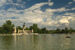 Retiro Royalty Free Stock Image