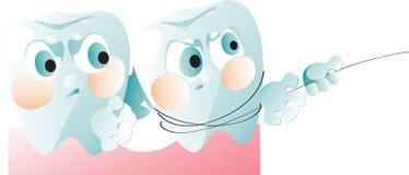 Retiro del diente Imagen de archivo libre de regalías