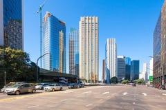 Retiro district, Buenos Aires royalty free stock image