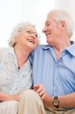 Retiro feliz Imagen de archivo libre de regalías