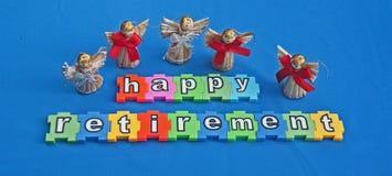 Retiro feliz Foto de archivo libre de regalías