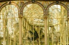 Fenêtres de palais de Cristal Photos stock