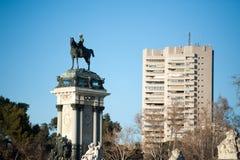 Retiro Madrid Parque de Buen lizenzfreie stockfotografie