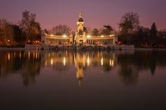 Retiro, Madrid, Spain Stock Image
