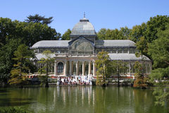 Retiro park Stock Photos