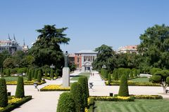 Retiro Park Royalty Free Stock Photography