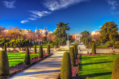 Retiro park Royalty Free Stock Photos