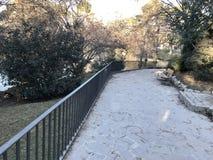 Retiro park. Buen Retiro park, Madrid, Spain Royalty Free Stock Images