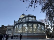 Retiro park. Buen Retiro park, Madrid, Spain Stock Images