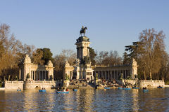 Free Retiro Park In Madrid Royalty Free Stock Photography - 28577387