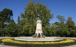 Retiro Park, Madrid Stock Image