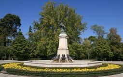 Retiro Park, Madrid stockbild