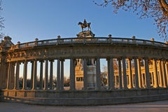 Retiro park madrid Stock Photo