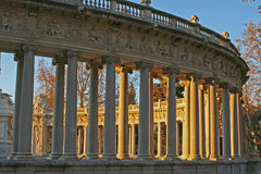 Retiro park madrid Stock Photography