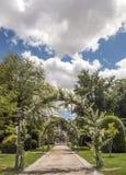 Retiro Park in Madrid Stockfotografie