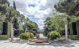 Retiro Park in Madrid Stockfoto