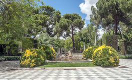 Retiro Park in Madrid Lizenzfreie Stockfotos