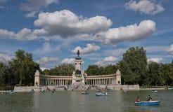 Retiro Park in Madrid Lizenzfreie Stockfotografie
