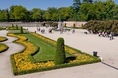 Retiro Park, Madrid Lizenzfreie Stockfotografie