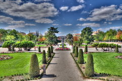Retiro park, Madrid, Spain Stock Photos