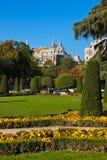Retiro Park in Madrid Spain Stock Photo