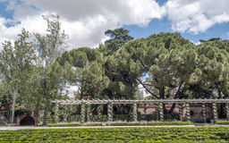 Retiro Park in Madrid Stock Photography