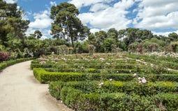 Retiro Park in Madrid royalty free stock photography