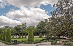 Retiro Park in Madrid Royalty Free Stock Photo