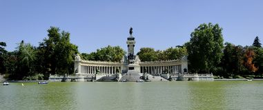 Retiro Parque Royalty Free Stock Photo