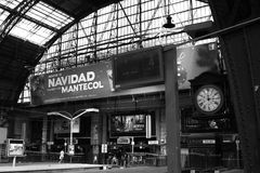 Retiro railway station in Buenos Aires Stock Image