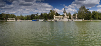 Retiro's park - Madrid Stock Images