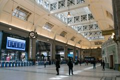 Retiro train station in Buenos Aires Royalty Free Stock Photography