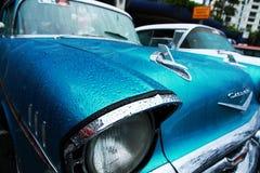 Reto-Auto. Shevrolet. Cooly-Felsen auf Festival Lizenzfreie Stockbilder