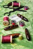 Reto sewing kit. Stock Photography