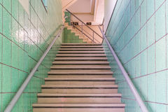 Retoi stairs  Curacao Views Royalty Free Stock Photography