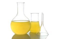 Retortas químicas fotos de stock