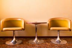Retrò armchairs Royalty Free Stock Photography