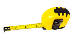 Retractable tape. Royalty Free Stock Images