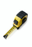 Retractable tape measure Royalty Free Stock Photography