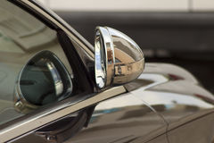Retracted wing mirror Stock Image