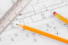 Retrait architectural de concept Image libre de droits