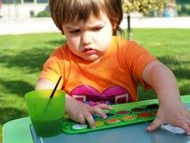 Retrait d'enfant Images libres de droits