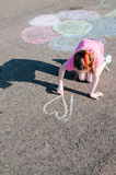 Retrait d'enfant en stationnement Photo libre de droits