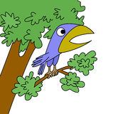 Retrait d'oiseau illustration de vecteur
