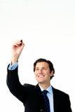 Retrait d'organogram d'affaires Photo stock