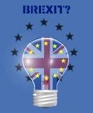 Retrait de Brexit Royaume-Uni de l'Union européenne Image libre de droits